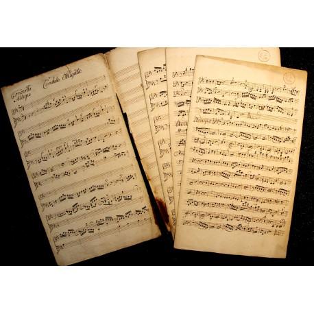 Johann Philipp Kirnberger: Cembalokonzert c-Moll