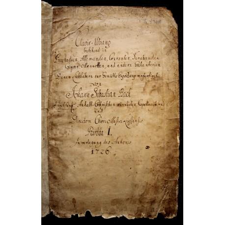 Johann Sebastian Bach: Clavier-Übung, Partita I