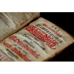 Das neu-vermehrte Hamburgische Gesangbuch