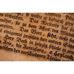 """""""Von der musikalischen Poesie"""" – musikästhetische Überlegungen der Bach-Zeit"""