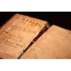 Eine Weimarer Bibel der Bach-Zeit