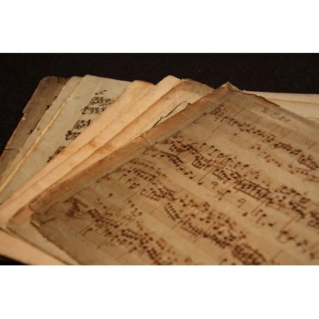 Klavierwerke von Bach und von Johann Wilhelm Häßler
