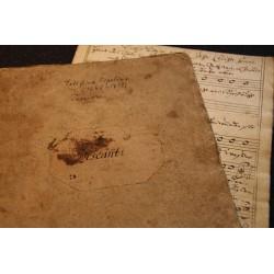 Ein Discant-Stimmheft von Bachs Thomanern