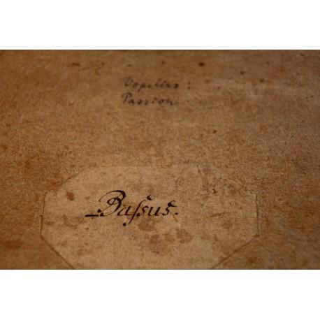 Ein Bass-Stimmheft von Bachs Thomanern