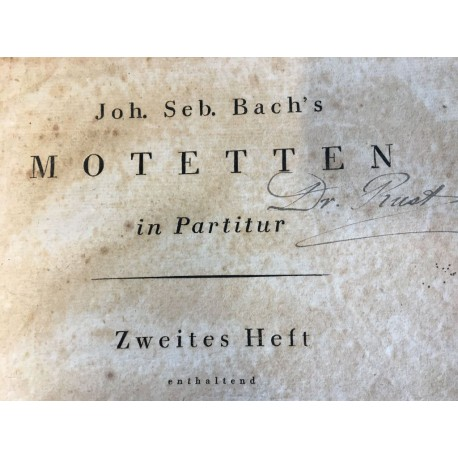 J.S. Bach: Motettensammlung