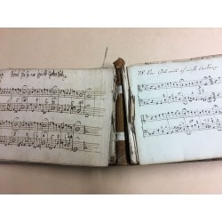 Choral-Handschrift - ein handschriftliches Choralbuch aus der Bachzeit