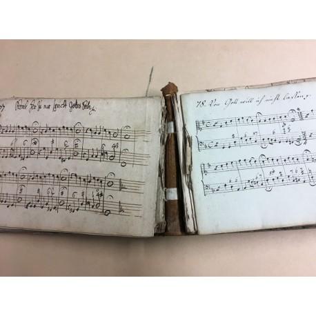 Choral-Handschrift