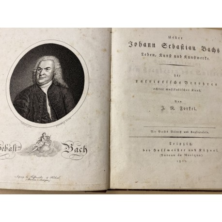 Über Johann Sebastian Bachs Leben ...
